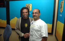 Cape Talk 567mw Karate Odyssey Soli Philander 2
